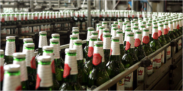 Brewery Packaging and Bottle Labeling Adhesives